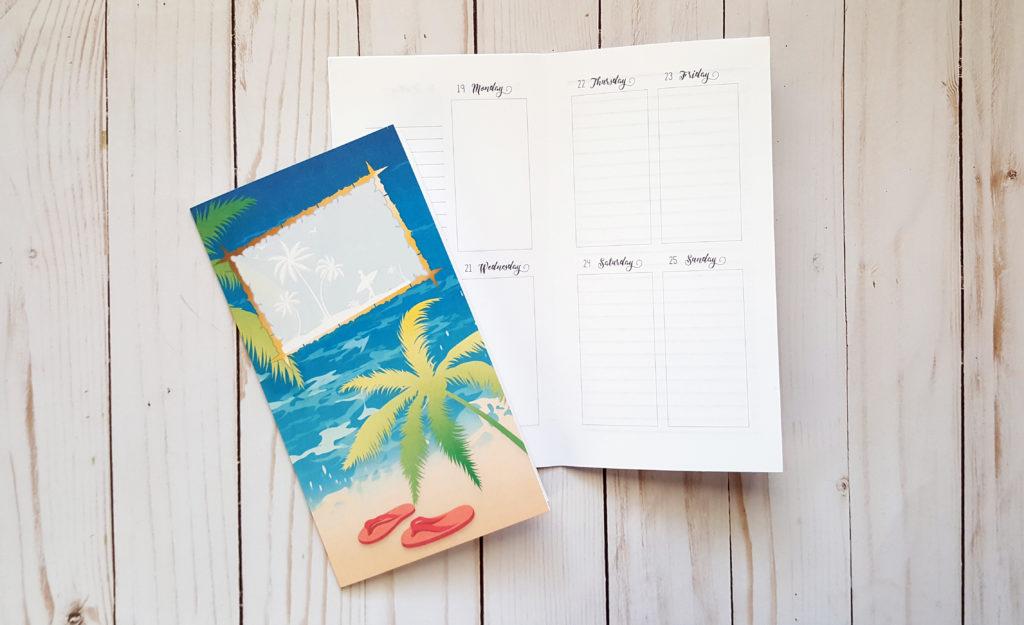 June 2017 Traveler's Notebook Printable Planner Inserts