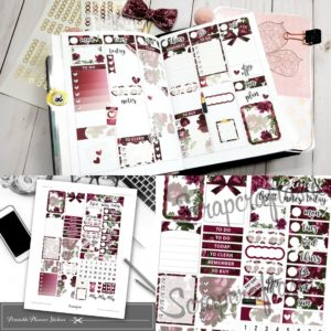 Valentine's Day Vibe: New Printable Planner Sticker Samplers