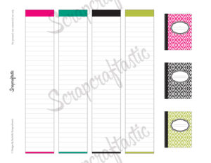Planner Pro Live Love Plan Daily Schedule Printable Planner Stickers for MAMBI Happy Planner