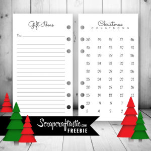Get your Planner Ready for the Holiday Season