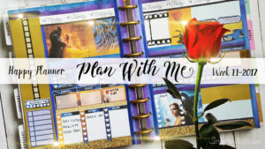 "Week 11-2017 / PWM ""From Scratch"" Personal TN & Planner and Beauty & The Beast HP Spread"