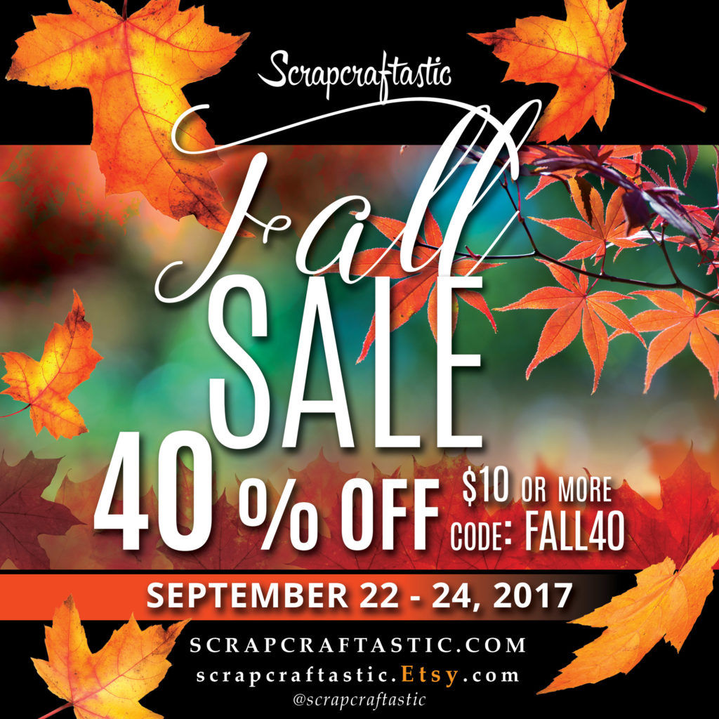 Fall 2017 Sale