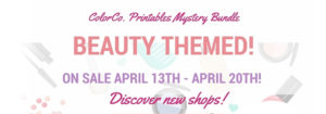 BEAUTY… ColorCo. Printables Monthly Mystery Kits
